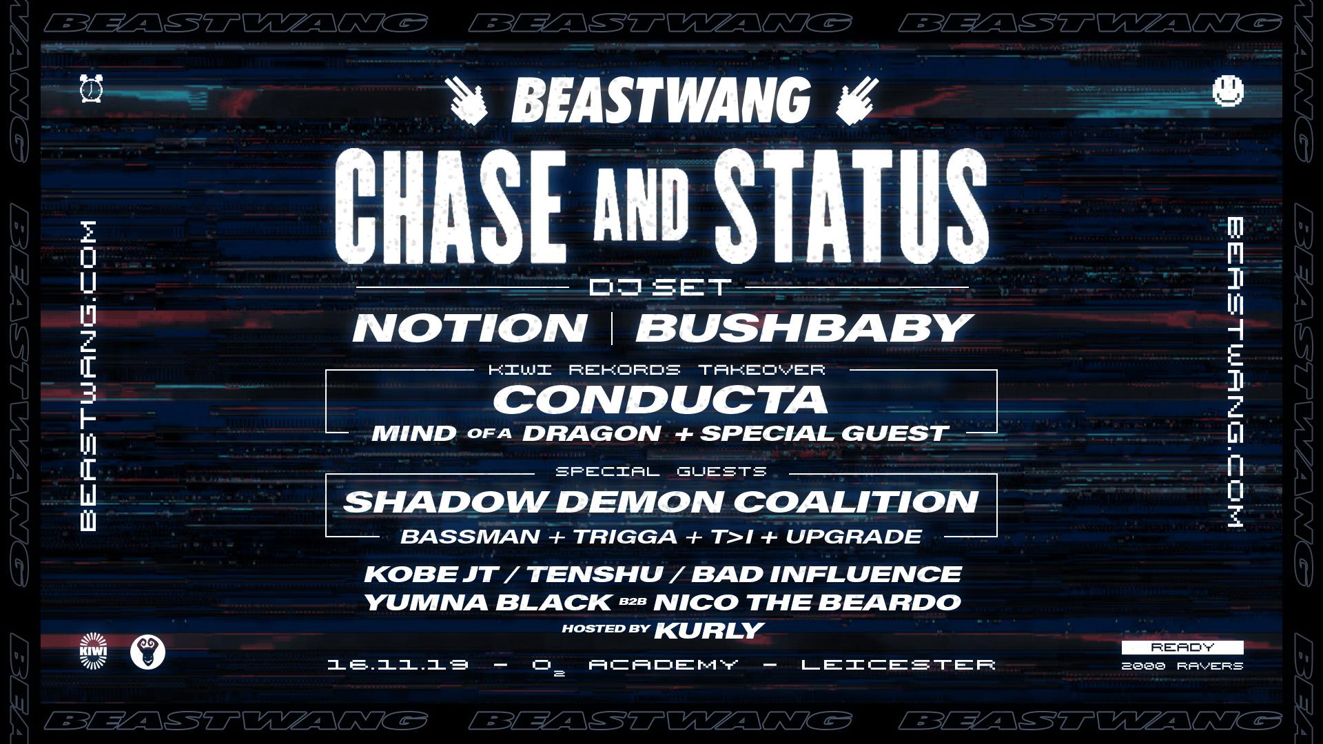 Beastwang w/ Chase & Status
