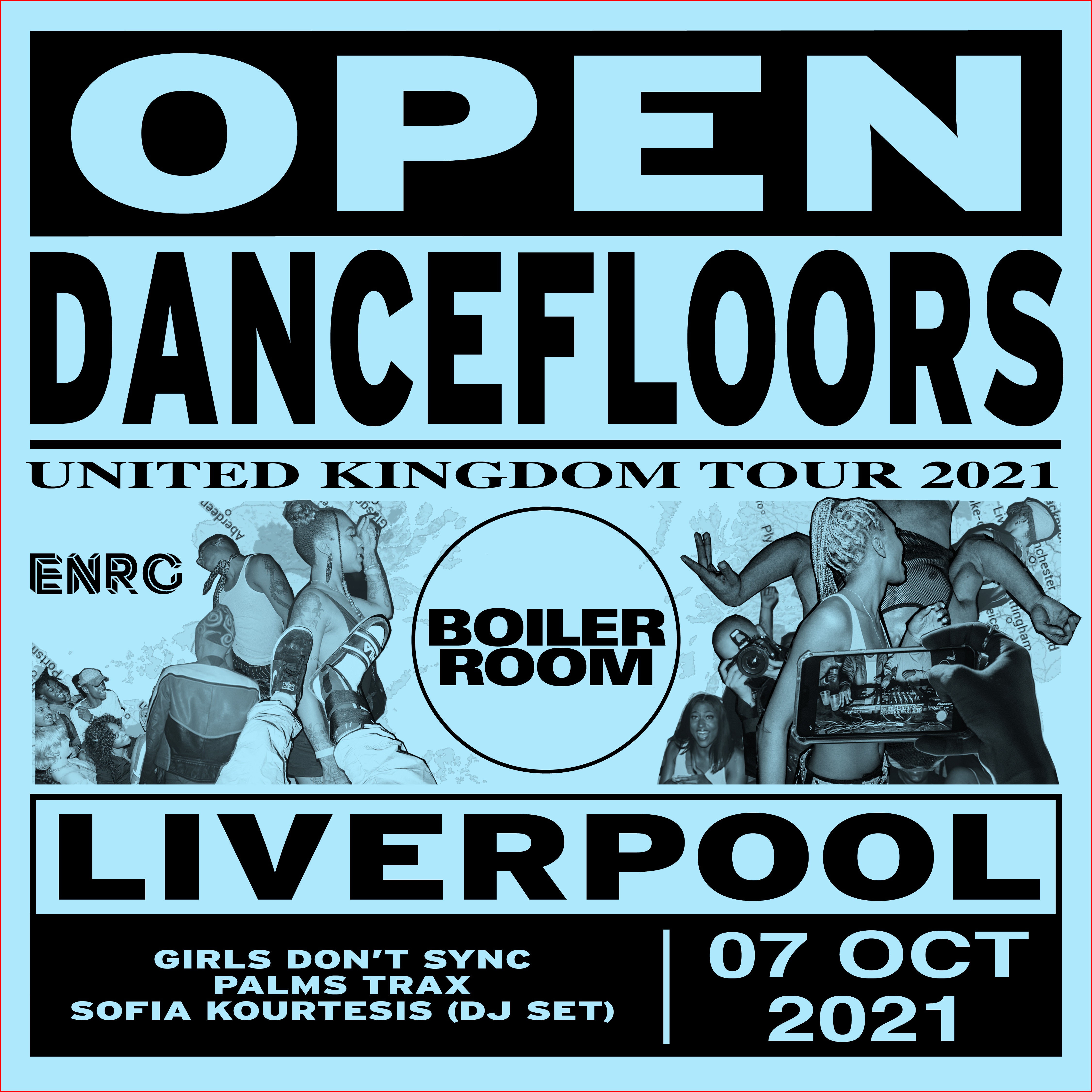ENRG x BOILER ROOM presents Open Dancefloors IWF Liverpool
