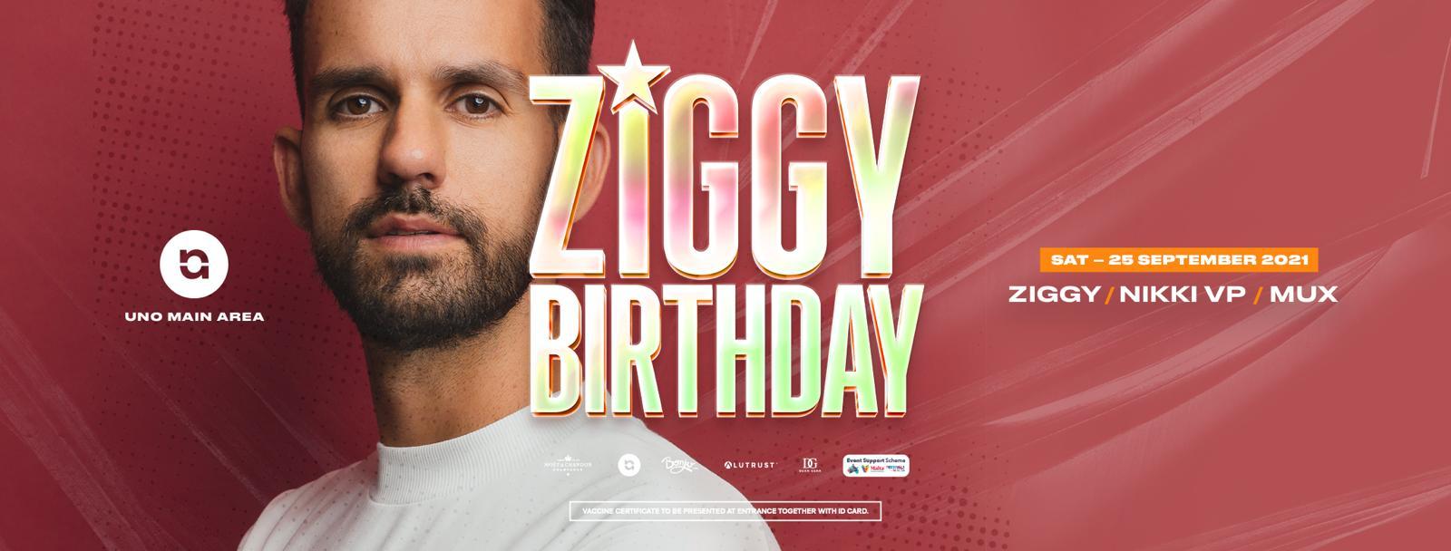 Ziggy Presents - Ziggy's Birthday!