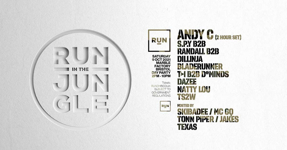 RUN in the Jungle - Day Party with Andy C + more